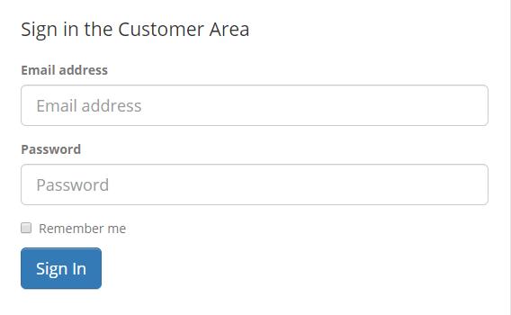 Didsoft Customer Area