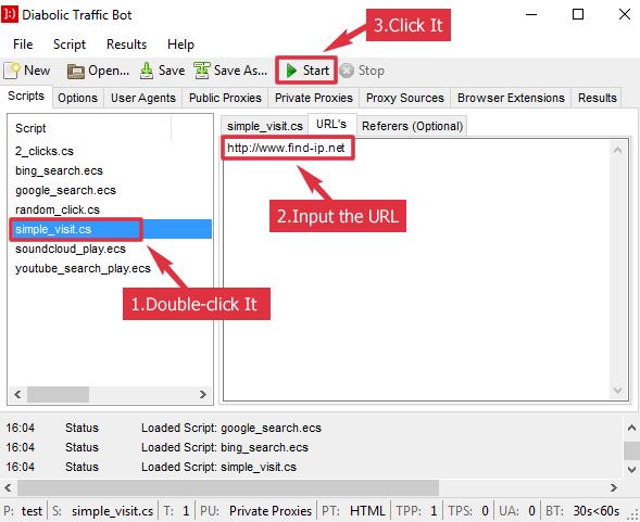 Diabolic Traffic Bot Scripts