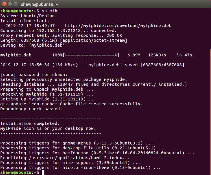 Run the installation file
