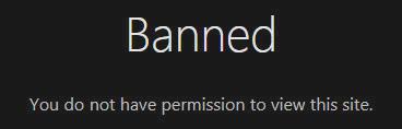 Tor is blocked